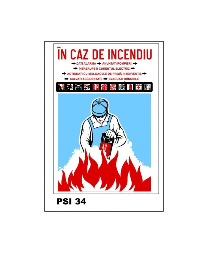 Indicator In Caz De Incendiu