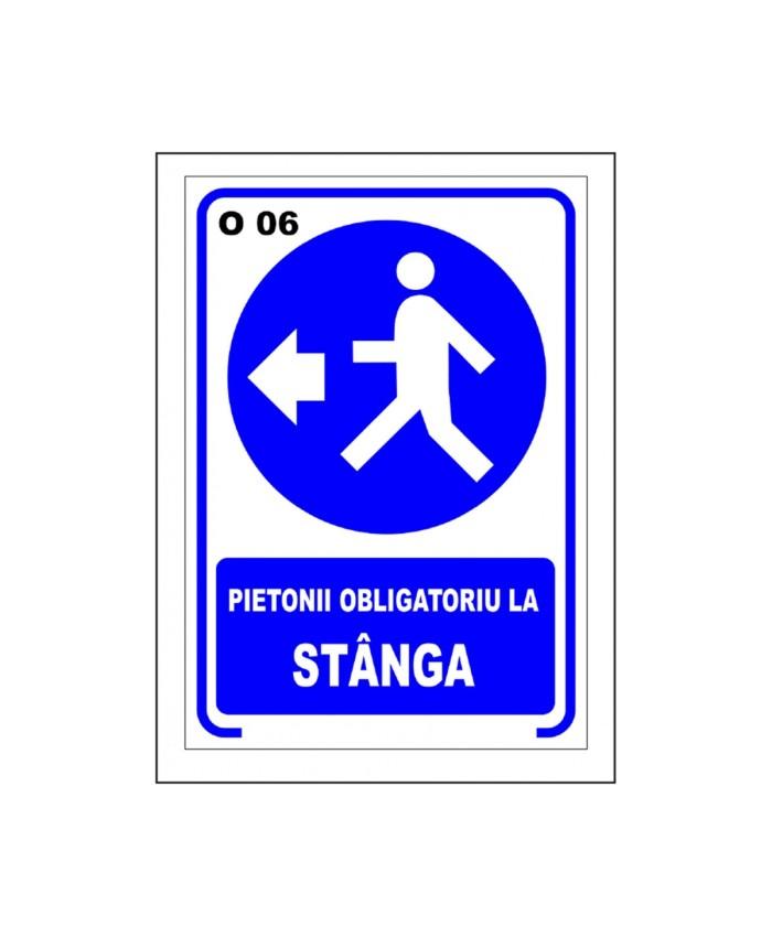 Pietonii Obligatoriu La Stanga