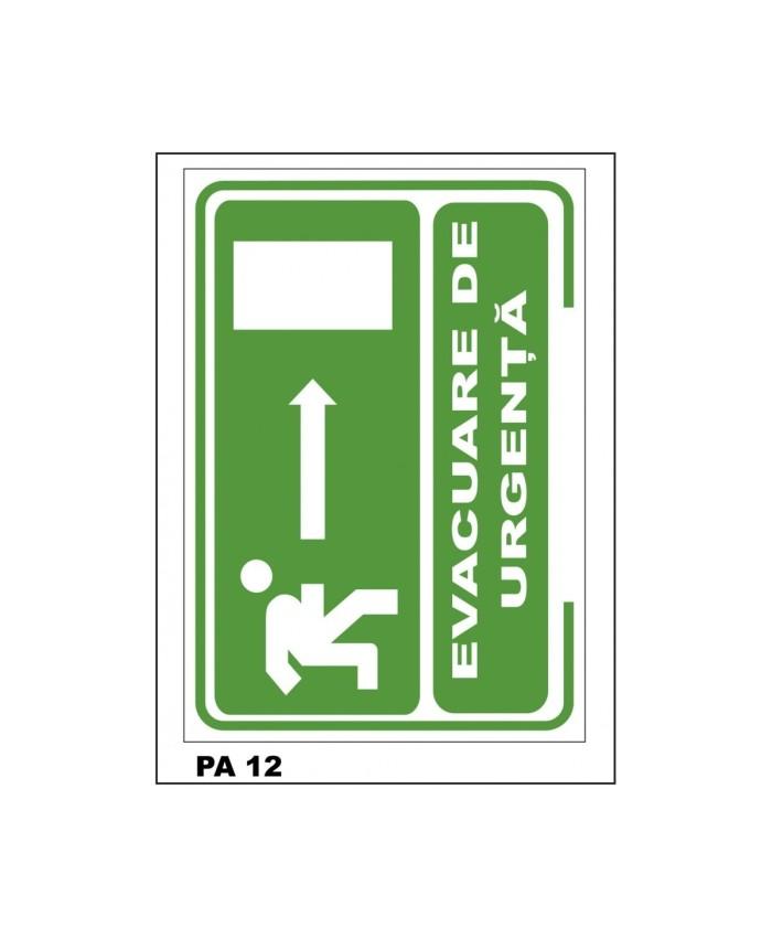 Indicatoare Pentru Evacuare De Urgenta Inainte