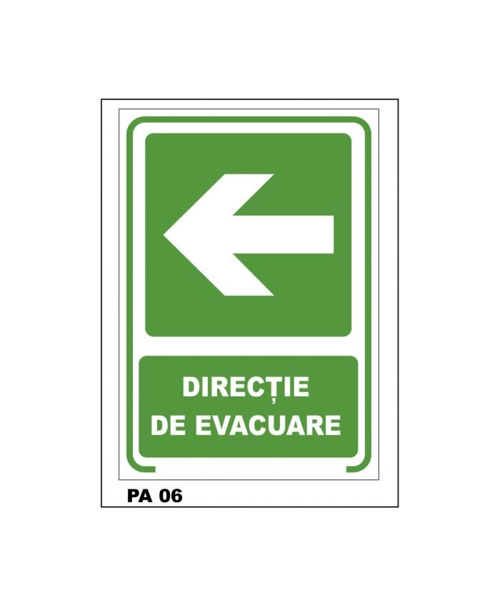 Indicatoare Pentru Directia De Iesire Stanga