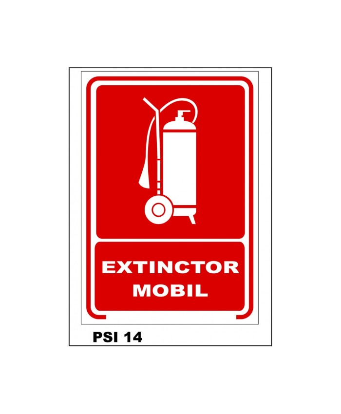 Extinctor mobil