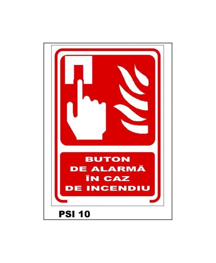 Buton De Alarma In Caz De Incendiu