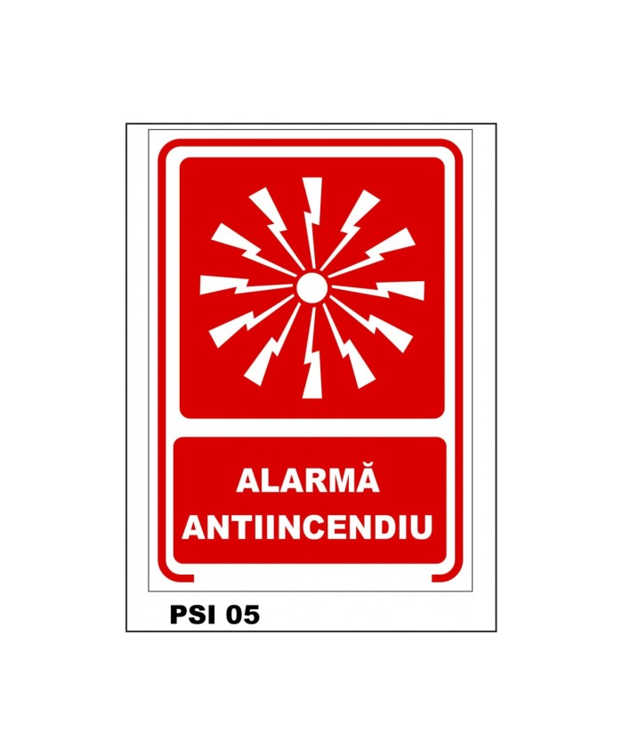 Alarma Antiincendiu
