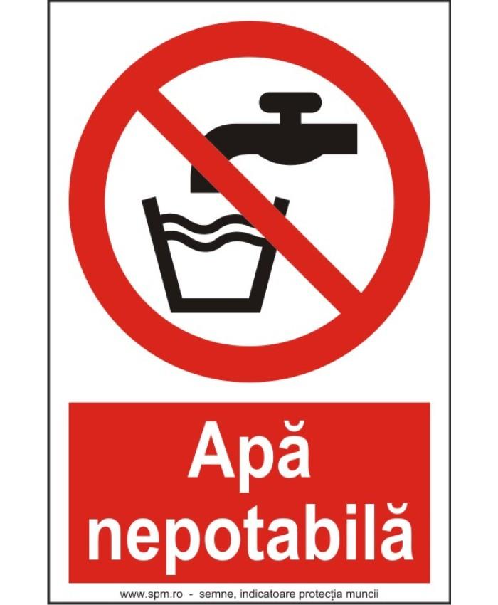 Indicatoare Pentru Apa Care Nu E Buna