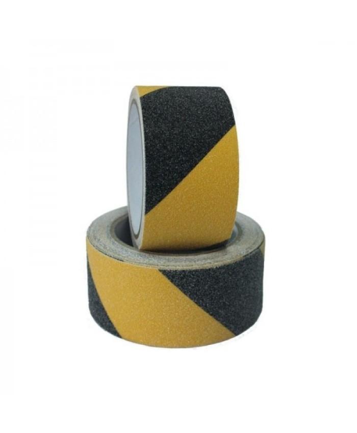 Banda antialunecare galben cu negru