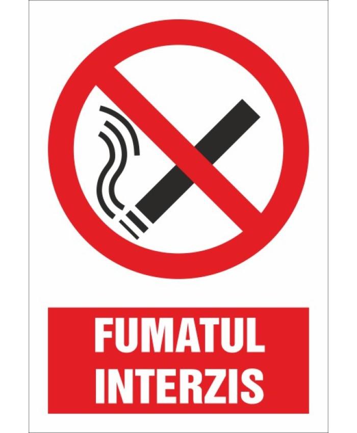 Indicatoare Pentru Fumatul Interzis
