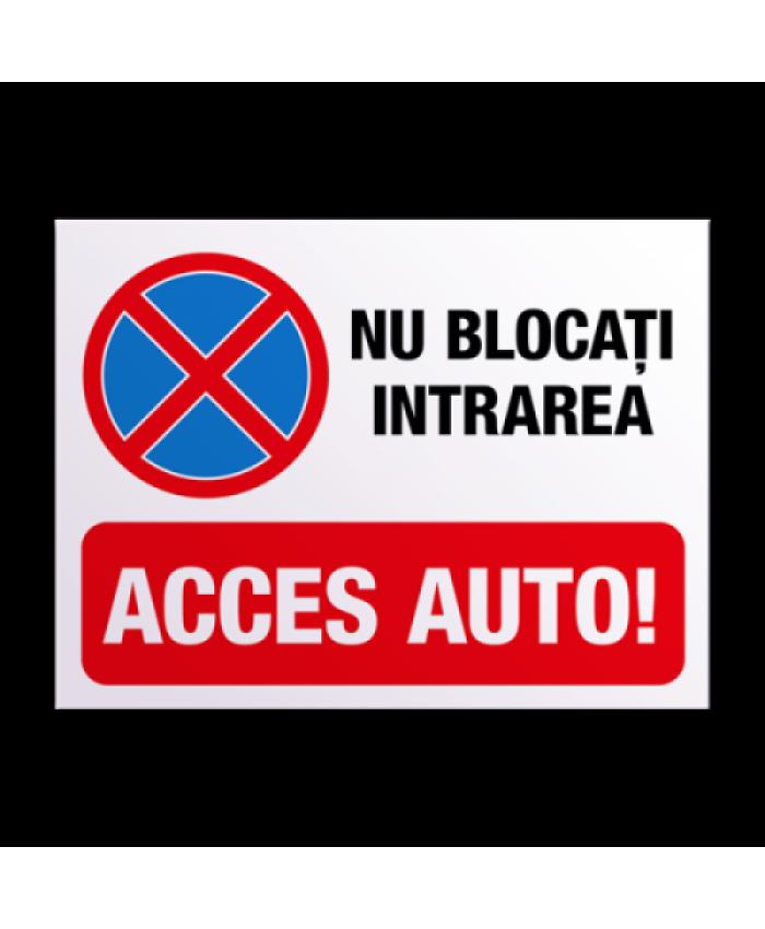 Indicatoare Pentru Accesul Auto