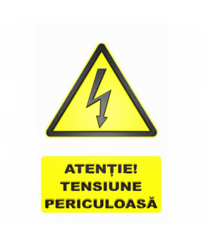 Indicatoare Pentru Tensiune Periculoasa De Electrocutare