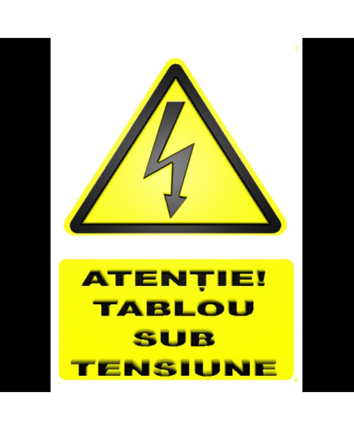 Indicatoare Pentru Tablouri In Functiune