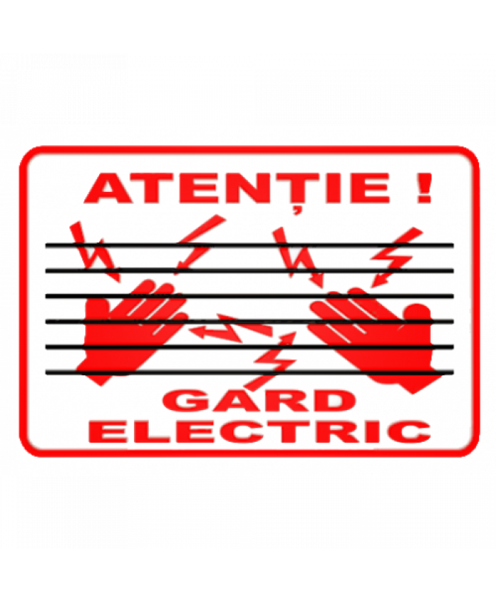 Indicatoare Pentru Gard Electric