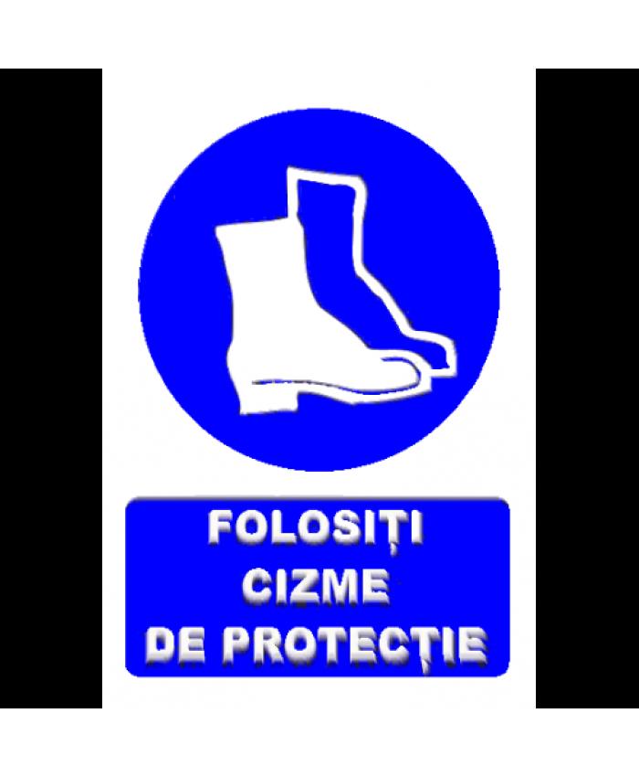 Indicatoare Pentru Folosirea Incaltamintei De Protectie