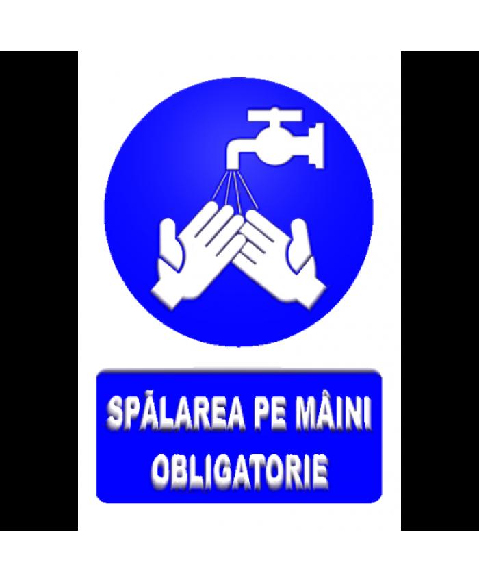 Indicatoare Pentru Spalarea Pe Maini